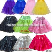 wholesale puffy petticoats Underskirt Bridal Underdress Wedding Petticoat Tulle ball gown women petticoat
