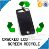High price buying and recycling mobile phone LCD broken cracked touch screen repair for iphone6