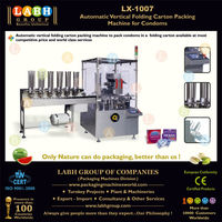 Automatic duplex mono carton packaging machinery for condoms pack 2