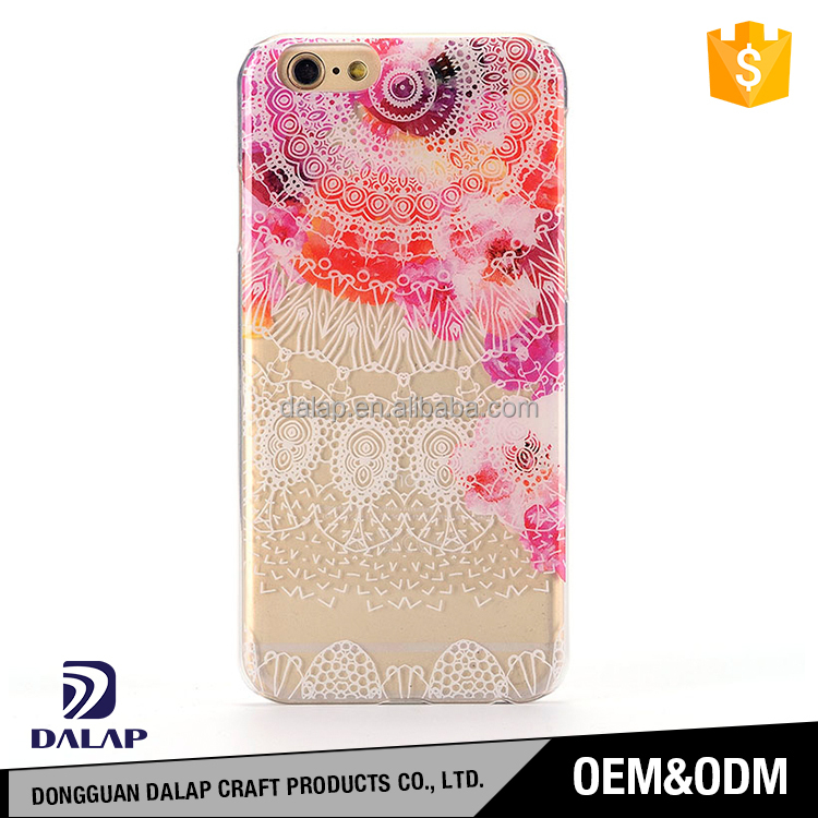 China cell phone cases supplier wholesale IMD custom printed pc hard case cover for iphone 6 6s 7 plus