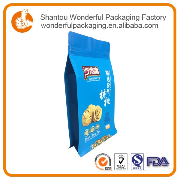 Dried food bag pvc for food packaging with fast food for snack
