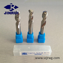 Solid Carbide CNC Drill Bit / Carbide Twist Drill /Best Drill Bit For Stainless Steel (JR101)