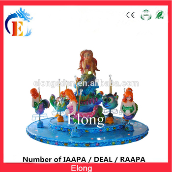 Professional playground equipment carousel