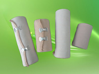 Hot sale high quality yarn made medical silicone bandage