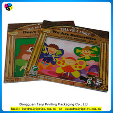 Custom printing Soft cover coloring book for children