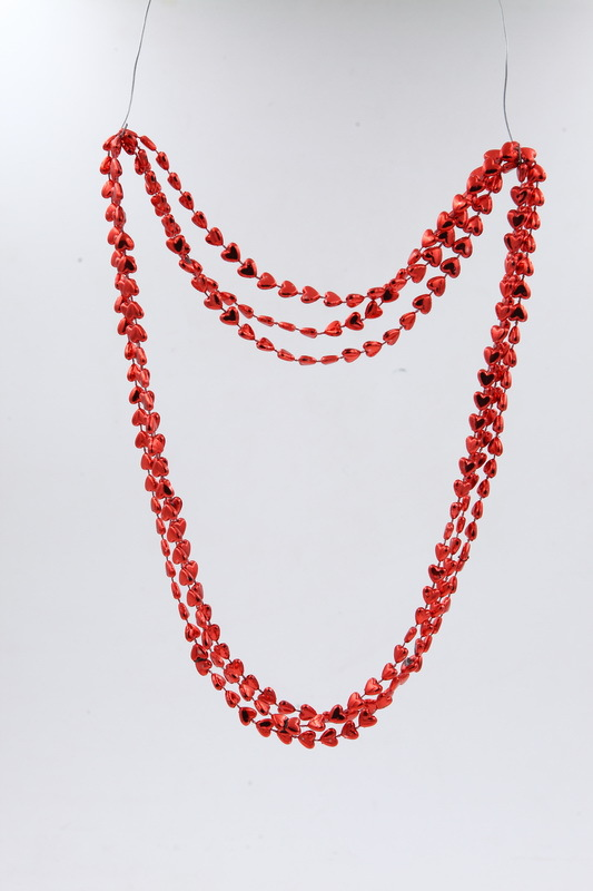 Valentine's day party Bead chain new necklace valentines day gifts made in china