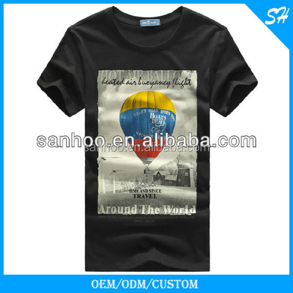 OEM Service Fashion Cotton Graphic T-shirt With Own Design