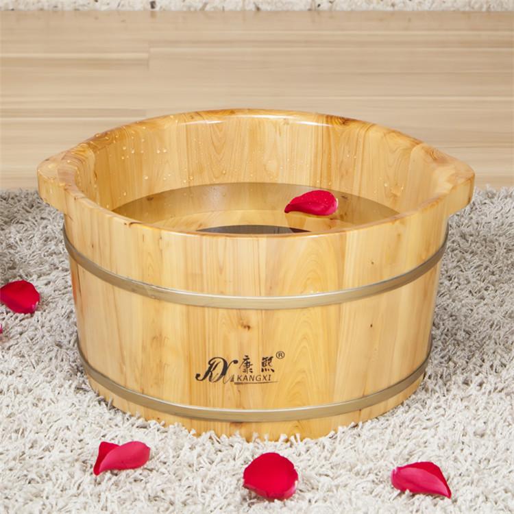 Foot Soak Basin/foot Spa Washing Basin/wooden Foot Tub - Buy Plastic ...