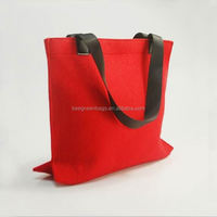 Custom wholesale wool felt bag for shopping