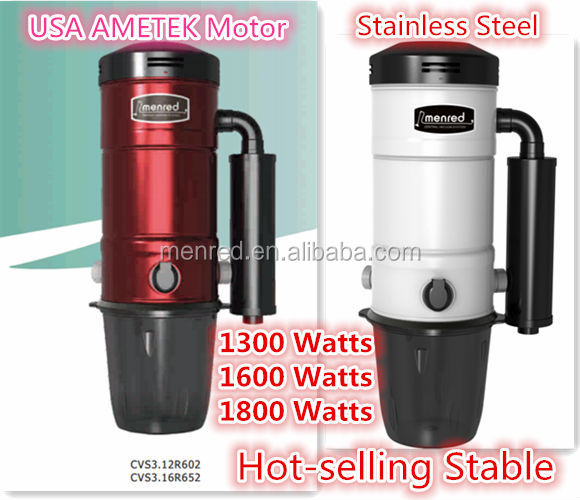 2014 Menred home use automatic Central Vacuum cleaner pipe electric