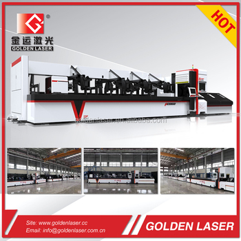 Fiber Laser Metal Tube and Pipe Cutting Machine 700W 1000W 2000W 3000W