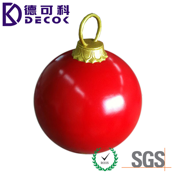Decorative Hollow PP Balls 150mm Sphercial Wholesale Shatterproof Christmas Ball Ornament