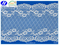 Wide Width Spandex Elastic Lace Trim for Wedding Dress Bridal Gown