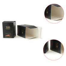 Square empty perfume packaging paper boxes for perfume