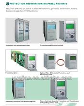 Protection and monitoring panel and unit for power plant