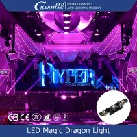 SMD5050 led bar magic dragon light with colorful portable flexible lights slim for 3D disco indoor decor
