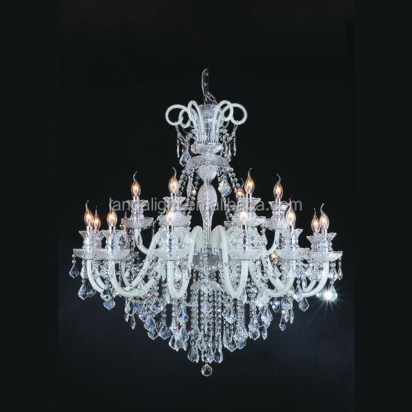 The candle light crystal chandeliers pendant lights