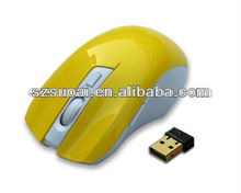 2.4g cute wireless optical computer mouse