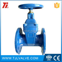 wafer type di/ci aluminum bronze disc butterfly valve drinking water/water din/ansi