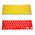 colorful laptop waterproof dustproof silicon keyboard cover, crystal for macbook keyboard cover, keyboard cover