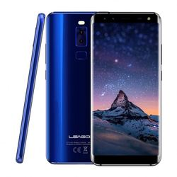 New Products Dropshipping Original ROM 32GB LEAGOO S8 4G Mobile Phone with Dual Back Cameras and dual front cameras