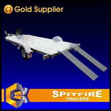 Spitfire High Quality Aluminum Motorbike Trailer, Motorcycle Trailer