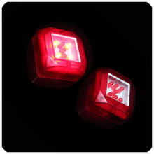 Colorful LED Light Dice Cup Cool Party Club Bar KTV Entertainment Rechargeable Flashing Luminous Dice