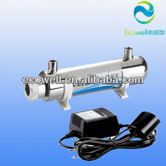 UV lamp,stainless steel 6w UV light sterilizer , 6w UV light sterilizer for water purifier
