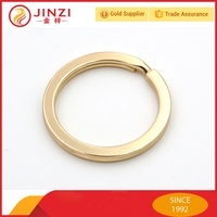 Fashion high quality 25mm metal split key rings/metal split ring