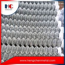 Wholesale Galvanized Treated Wood Type Chain Link Fence