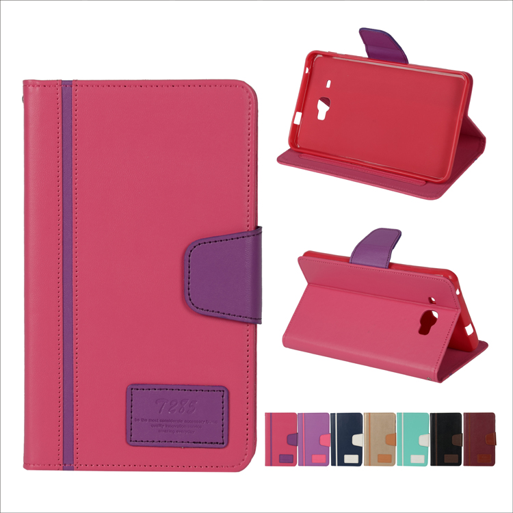 High Quality Flip Leather Case For Samsung Galaxy Tab E 9.6 T560 Tablet Case Cover Wholesale 2017