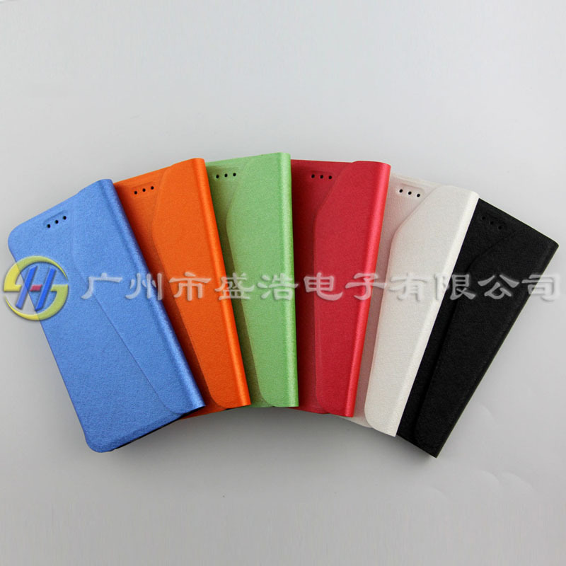 envelope Pearl color nappa leather mobile cell phone case shell sets for Apple for iphone 6 (4.7)