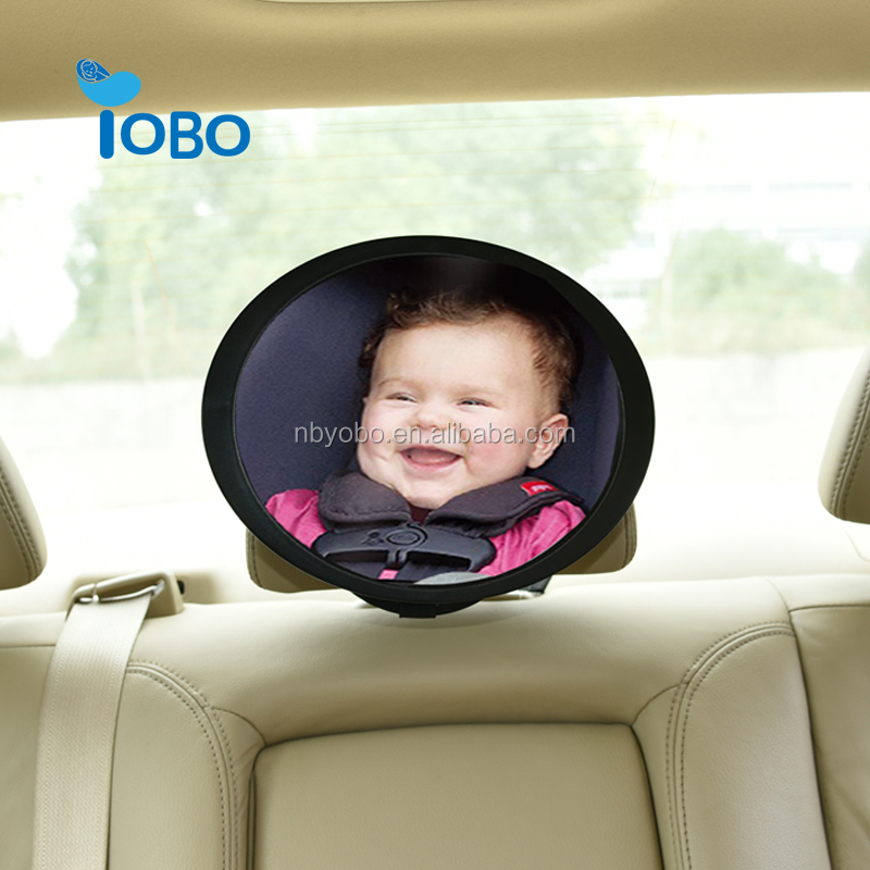 Car seat mirror help to keep a close watch on baby and decorate seat