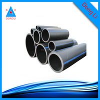 Irrigation water pipe hdpe plastic 12'' black pe pipes