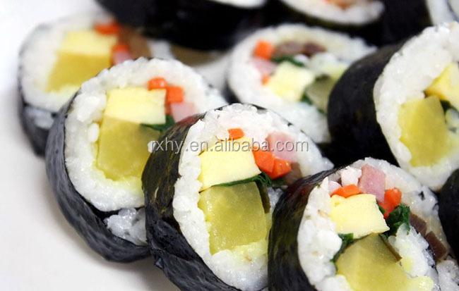 Healthy food roasted seaweed japanese sushi products