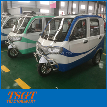 Adult electrical tricycle on sale with closed cabin