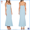 2015 Summer fashion women new blue sexy evening dress