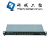 "1U 19"" rack mounted network security application platform firewall hardware industrial computer with 8 lan"