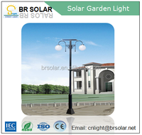5 years warranty control automatically led solar decorative garden light outdoor