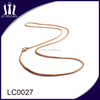 fashion high quality stainless steel gold neck chain designs