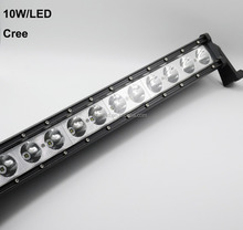"25"" 120W Single Row LED C REE Spot light bar for Truck 4WD Boat UTE Driving"