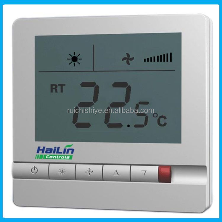 China gold supplier customized variable air volume thermostat fcu
