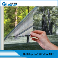 8MIL anti UV IR solar film safety film for cars
