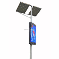 LAN/Wifi/3G intelligent management/ P3/P4/P5/P6 series/street lighting pole led display/billboard/panel/screen/