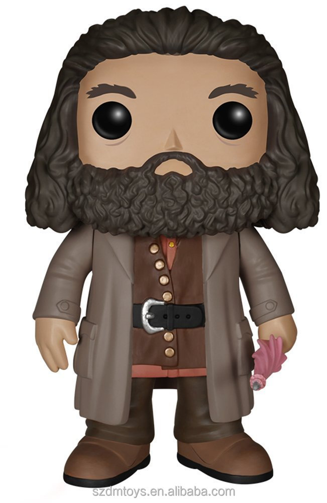 OEM plastic action figure famous movie character Funko POP Harry Potter-Rubeus Hagrid