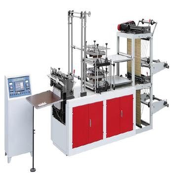 Ruian Xinshun Factory New Design Full Automatic Double Layer Disposable Pe Glove Making Machine