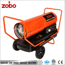Equipments For Poultry Farms Heating Air Blower Diesel Fuel Heater With ETL