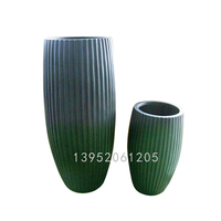 nanjing clear glass flower pot painting designs cover