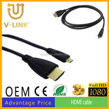 2k/4k vga to hdmi converter cable price in india hdmi to micro cable for 3D HD TV