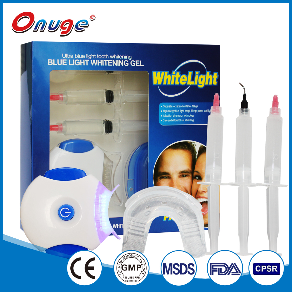CE & FDA Approved Oral Care Blue Light LED Teeth Whitening Kit